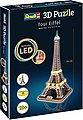 Revell® 3D-Puzzle »Eiffelturm«, 84 Puzzleteile, LED-Edition, Bild 3