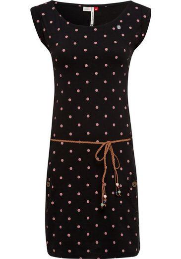 Ragwear Jerseykleid »TAG DOTS« (2-tlg) mit Allover-Dots-Print