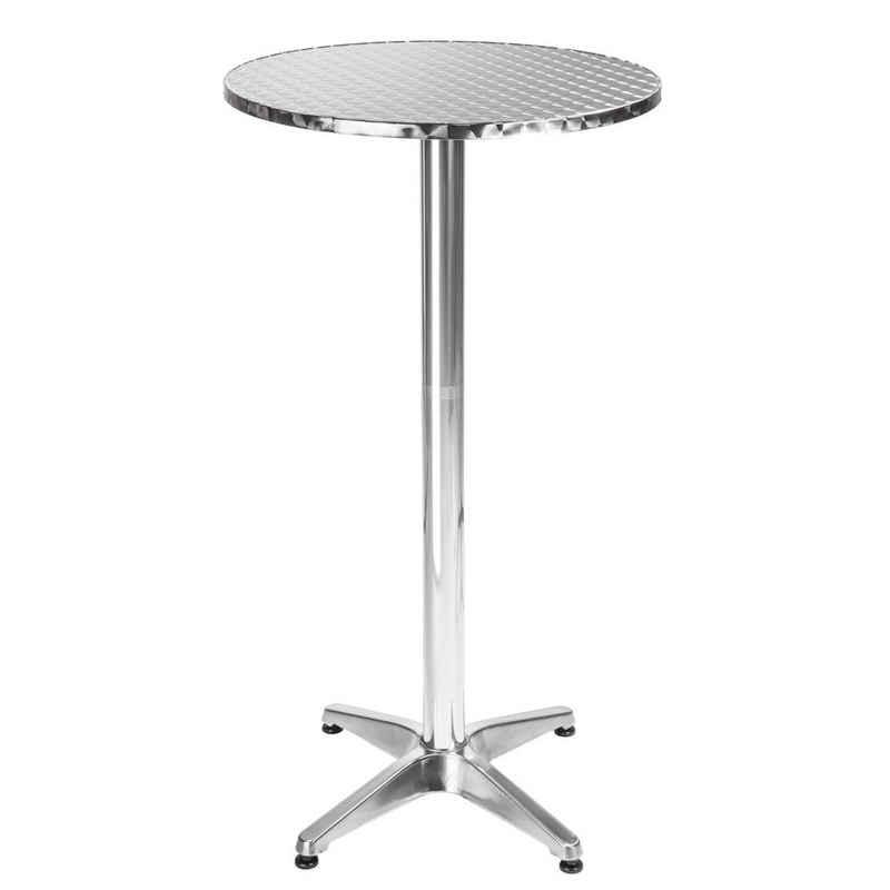 tectake Bistrotisch »Aluminium Bistrotisch Ø60cm« (1-St)