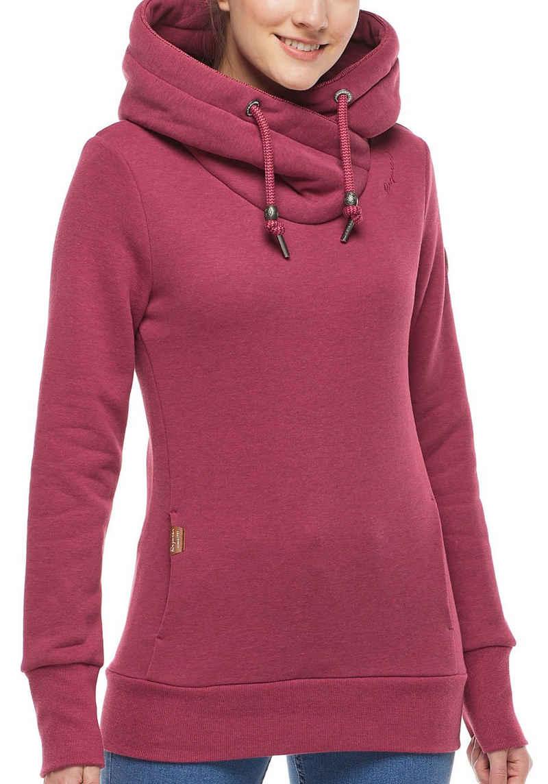 Ragwear Sweater »GRIPY BOLD« mit asymetrischem Schalkragen