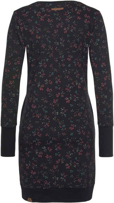 Ragwear Sweatkleid »MENITA O« im Mille-Fleur All Over-Print