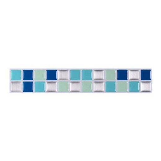 K&L Wall Art Fliesenaufkleber »selbstklebende Mosaik Fliesenaufkleber Fliesen Aufkleber 3D Küche Bad« (Vorteilspack, 10 Stück, Set), wasserabweisend