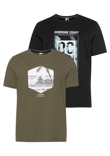 Ocean Sportswear T-Shirt (Packung, 2-tlg., 2er-Pack)