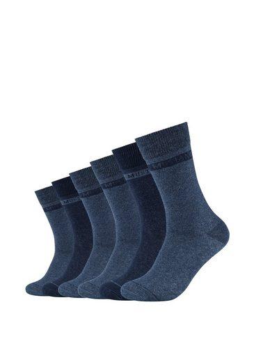 MUSTANG Socken (6-Paar) aus hochwertiger Bio-Baumwolle