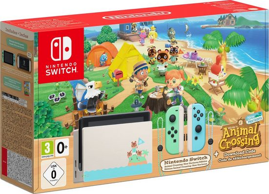 Nintendo Switch (Limited Edition), inkl. Animal Crossing