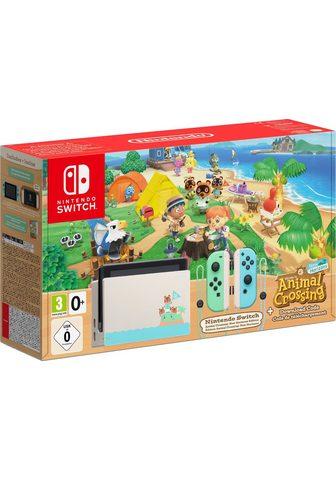 Nintendo Switch (Limited Edition) ir Animal Crossing