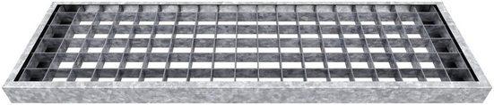 DOLLE Gitterroststufe »Gardentop«, BxTxH: 80x23x3 cm