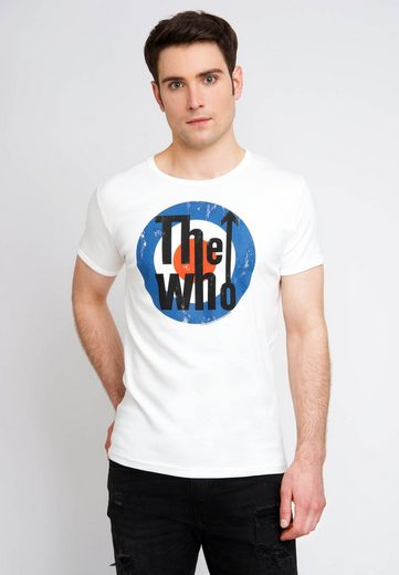 LOGOSHIRT T-Shirt mit modischem Vintage-Print »The Who«