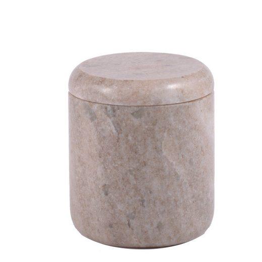 houseproud Aufbewahrungsdose »Morchana Marble Kosmetikdose«, gemaserter Marmor, rundgeschliffen