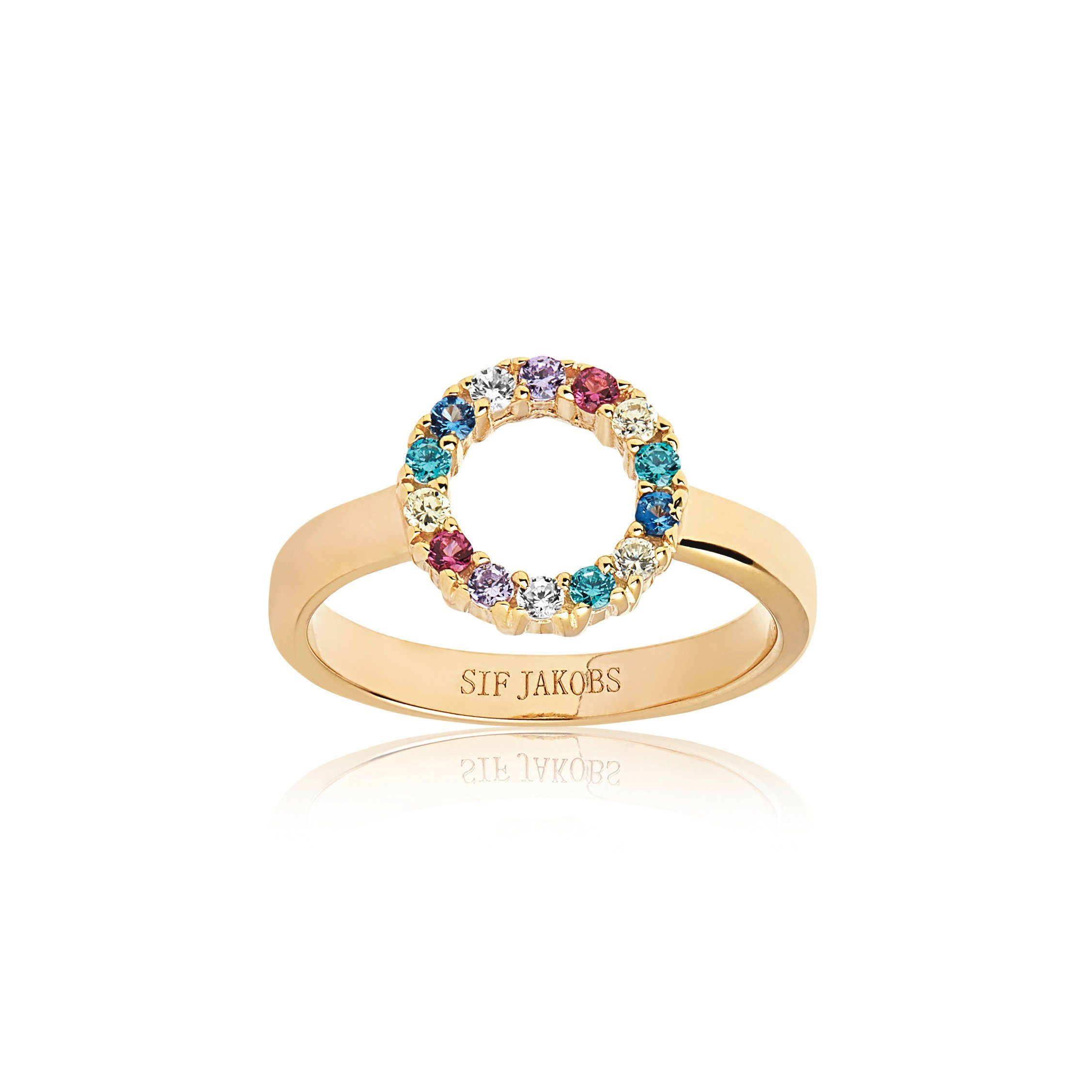 Sif Jakobs Jewellery Ring mit bunten Zirkonia Steinen online kaufen   OTTO