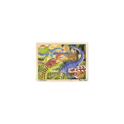 Melissa & Doug Puzzle »Holzpuzzle - Dinosaurier, 24 Teile«, Puzzleteile