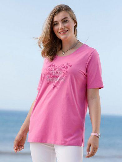m. collection Shirt aus reiner Baumwolle