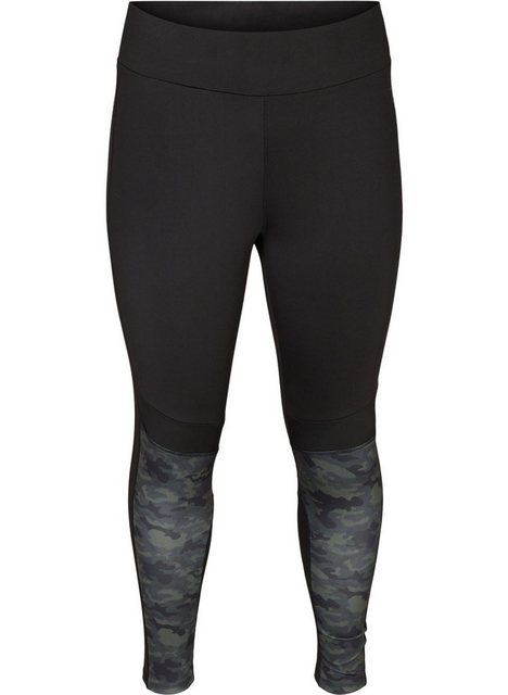 Hosen - Active by ZIZZI Trainingstights Große Größen Damen Trainings Tights mit 7 8 Länge und Print ›  - Onlineshop OTTO
