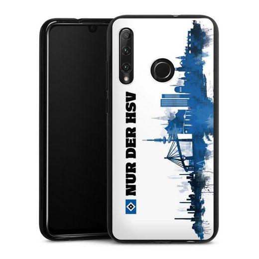 DeinDesign Handyhülle »Silhouette - Nur der HSV« Huawei Honor 20 Lite, Hülle Offizielles Lizenzprodukt HSV Hamburger SV