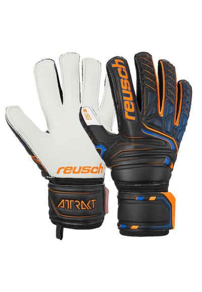 Reusch Torwarthandschuhe »Attrakt SG Finger Support« in sportlichem Design