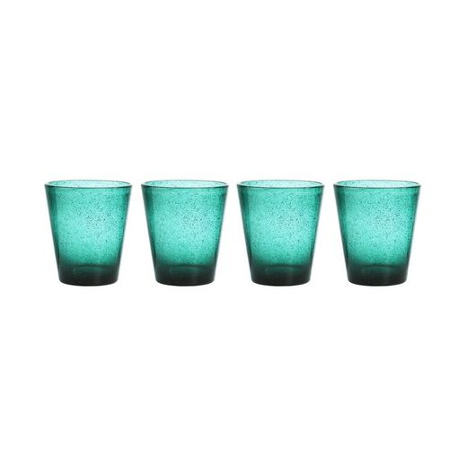 BUTLERS Glas »WATER COLOUR 4x Glas 290ml«, Glas