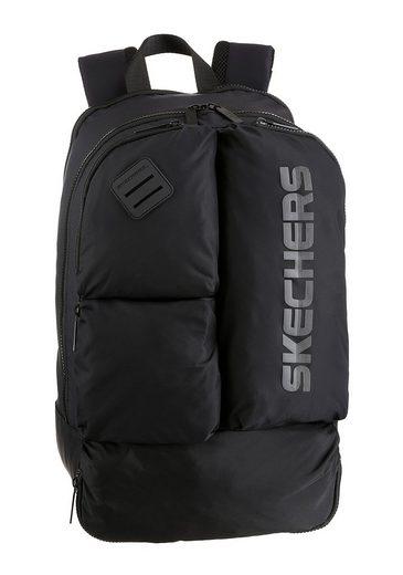 Skechers Cityrucksack, mit praktischer Einteilung und viel Stauraum
