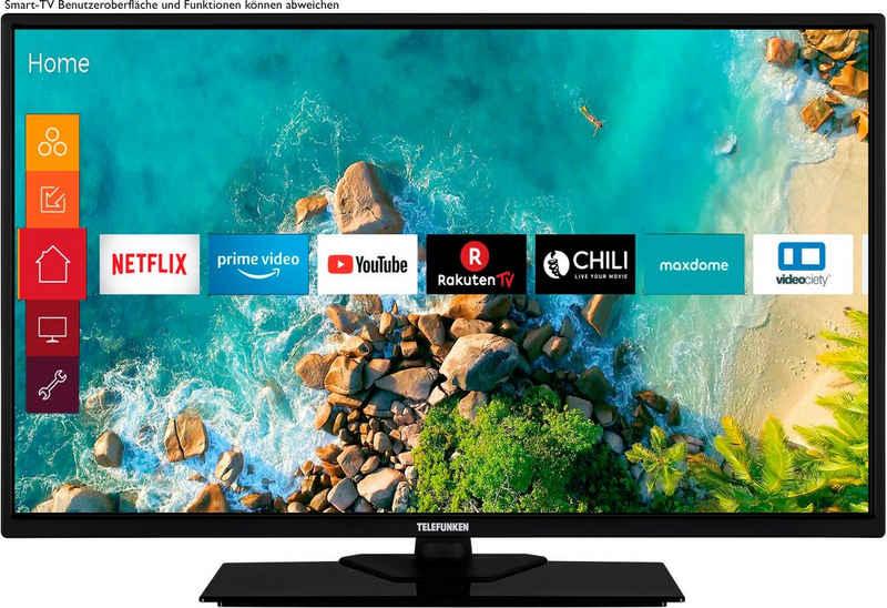 Telefunken D32F554M1CW LED-Fernseher (80 cm/32 Zoll, Full HD, Smart-TV)