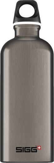 Sigg Trinkflasche »Alu-Trinkflasche TRAVELLER Smoked, 600 ml«