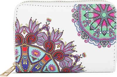 styleBREAKER Geldbörse »Kleine Geldbörse Mandala Ornament Muster«, Kleine Geldbörse Mandala Ornament Muster