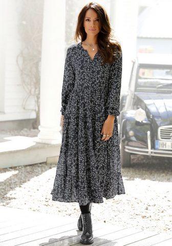 LASCANA Ilga suknelė su Blumenprint