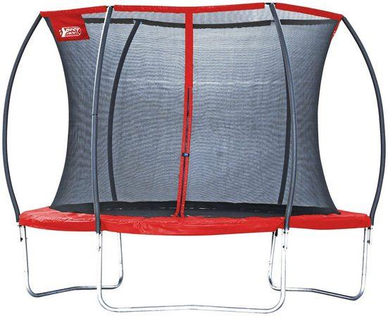 Gartentrampolin »57140 Superstar Red«, Ø 305 cm, mit Netz