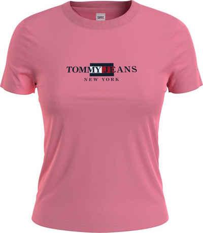 Tommy Jeans Rundhalsshirt »TJW Regular Timeless Tommy 2 Tee« mit Tommy Jeans City Logo-Schriftzug