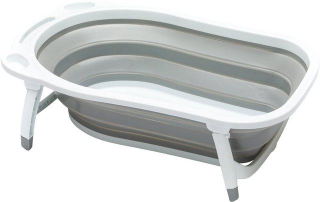 Badewannen und Whirlpools - Fillikid Babywanne »Faltbadewanne grau«, inkl. Temperaturmessung  - Onlineshop OTTO