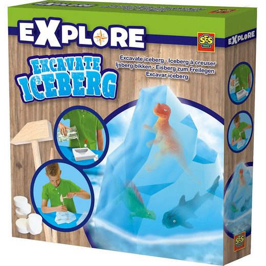 SES Creative Lernspielzeug »Ausklopfset Eisberg«