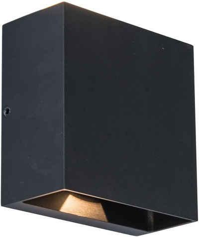 LUTEC LED Außen-Wandleuchte »GEMINI 5104003012«