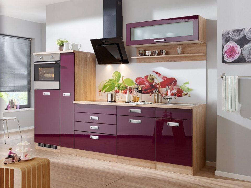 Küchenzeile ohne E-Geräte »Fulda, Breite 270 cm« | OTTO