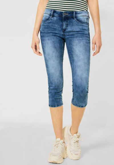 STREET ONE 3/4-Jeans 4-Pocket Style