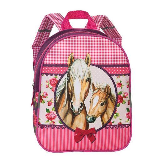 fabrizio® Kindergartentasche »Kinderrucksack Horses«
