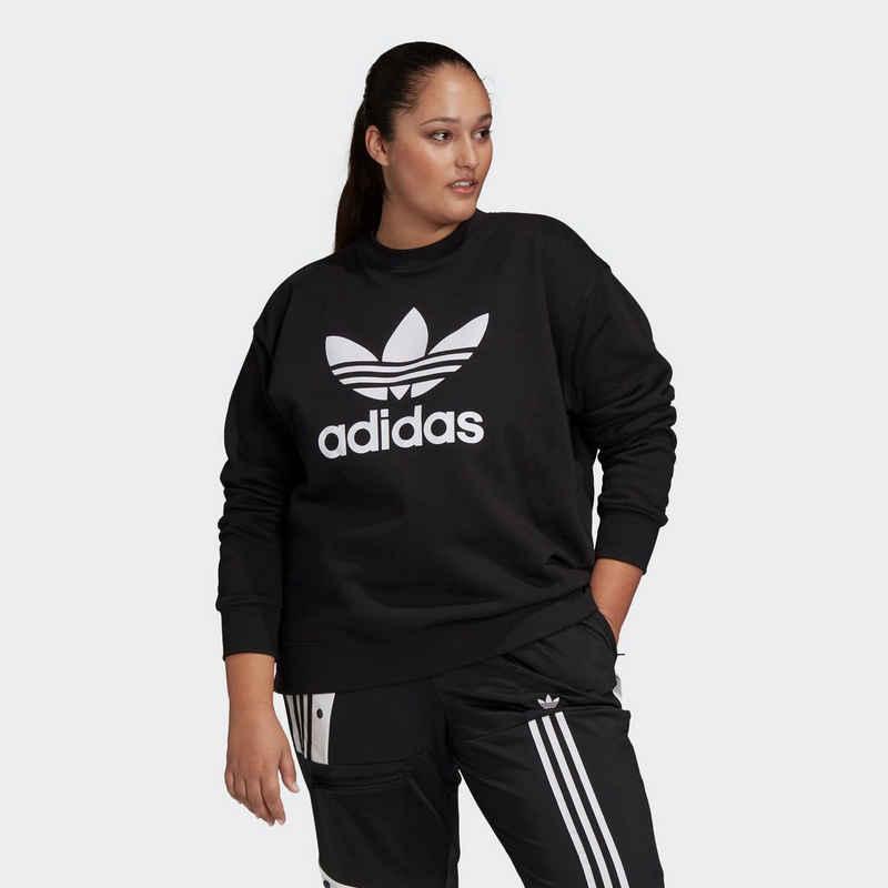 adidas Originals Sweatshirt »TREFOIL SWEATSHIRT - GROSSE GRÖSSEN«