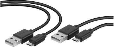 Speedlink »SL-450104-BK« Stromkabel, Typ A (NEMA-1), Micro-USB (300 cm)