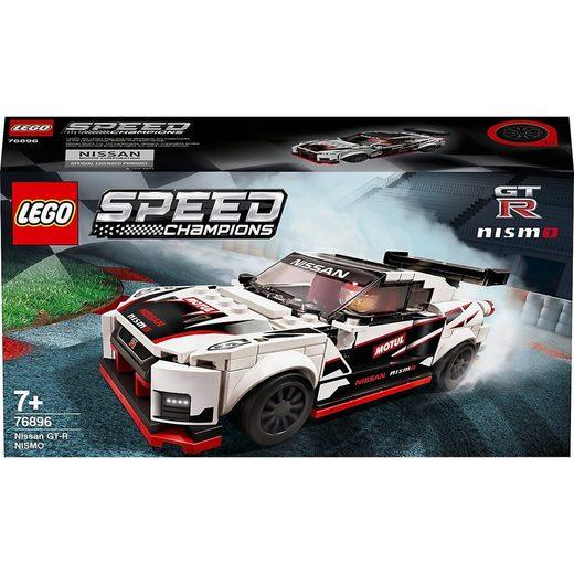 LEGO® Konstruktions-Spielset »LEGO® Speed Champions 76896 Nissan GT-R NISMO«