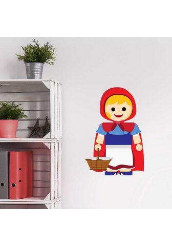 Wall-Art Wandtattoo »Spielfigur - Rotkäppchen« ...