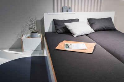 Müller SMALL LIVING Bettgestell »FLAI«, mit Kopfteil in 4 Breiten, ausgezeichnet mit dem German Design Award 2018