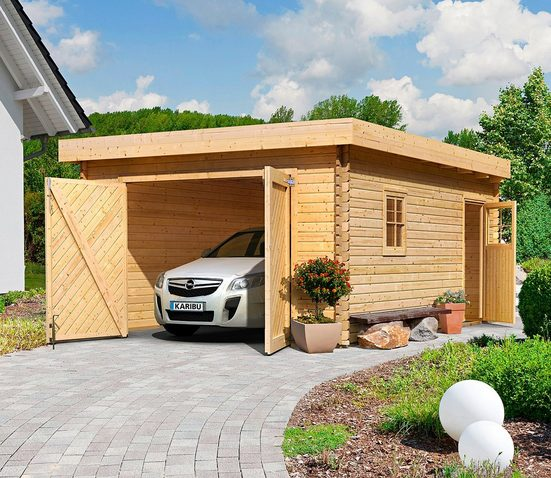 KARIBU Einzel-Garage »Florian«, BxT: 417x571 cm, Einfahrtshöhe: 193 cm