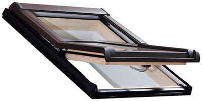 RORO Türen & Fenster Dachfenster »Typ DHE217«, BxH: 114x140 cm, kieferfarben