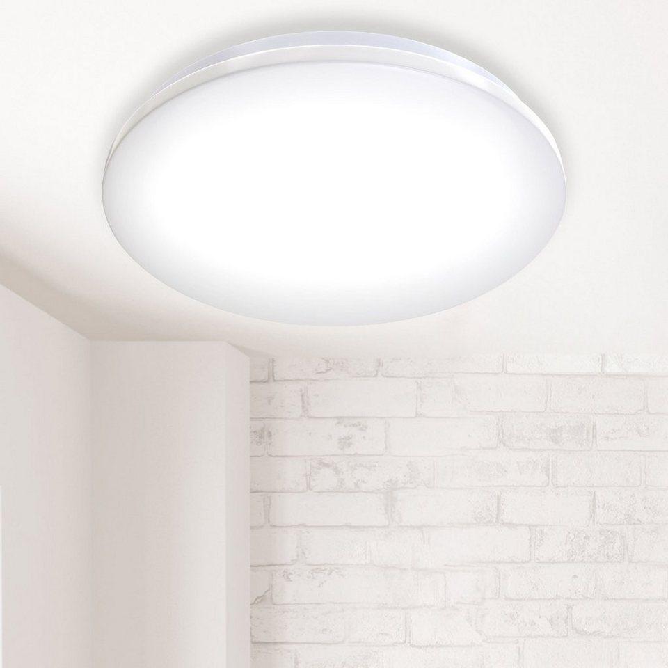 B.K.Licht LED Deckenleuchte, LED Deckenlampe Badlampe inkl. 20W ...