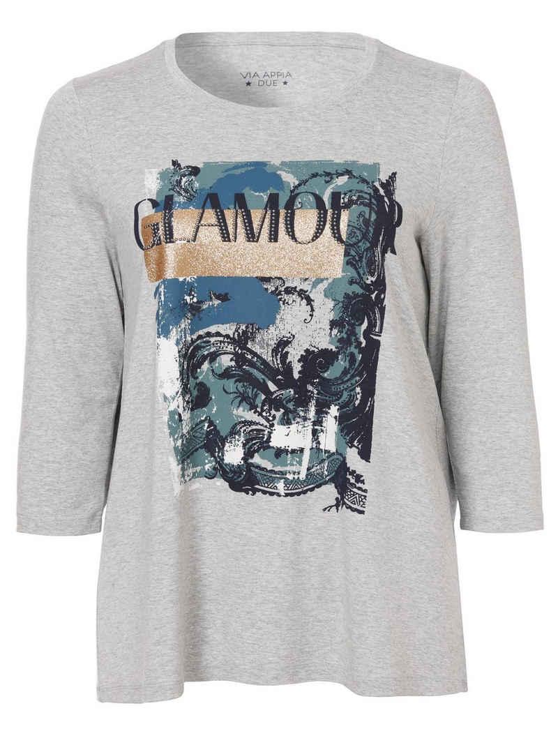 VIA APPIA DUE Print-Shirt (1-tlg)