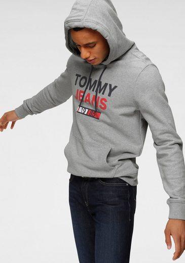 TOMMY JEANS Kapuzensweatshirt »TOMMY BLACK«