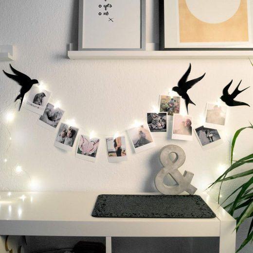 Wall-Art Hängedekoration »Foto Klammern LED Lichterkette« (1 Stück)