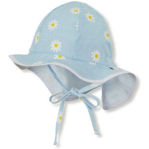 Sterntaler® Sonnenhut »Baby Sonnenhut mit UV-Schutz für Mädchen«