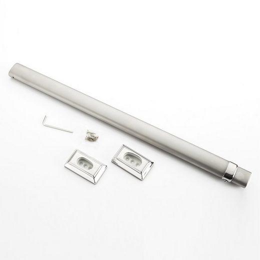 Ailiebe Design Kleiderstange, Schrankstange Teleskopstange 85-153cm Ausziehbar
