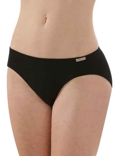 COMAZO Bikinislip »Damen Baumwoll Mini Slip« (1 Stück) Vegan