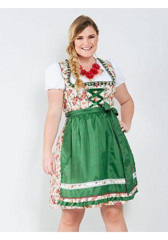 Sara Lindholm by HAPPYsize Dirndlbluse su Rüschenärmel