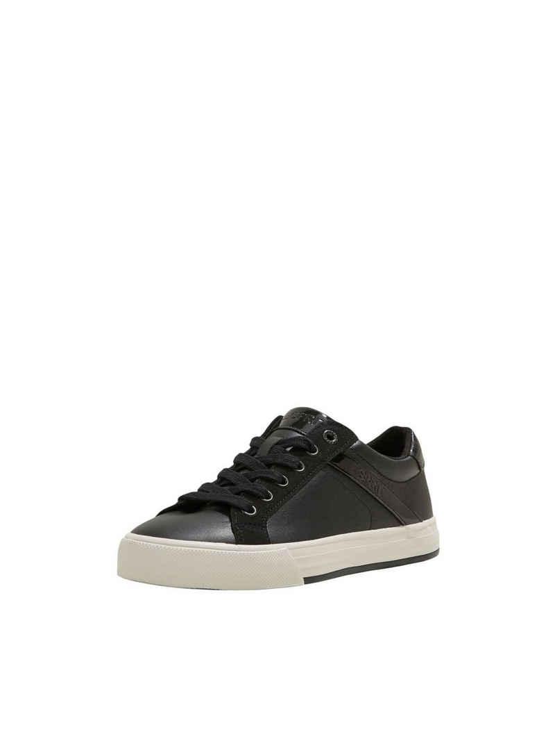 Esprit »Sneaker aus Materialmix in Lederoptik« Sneaker