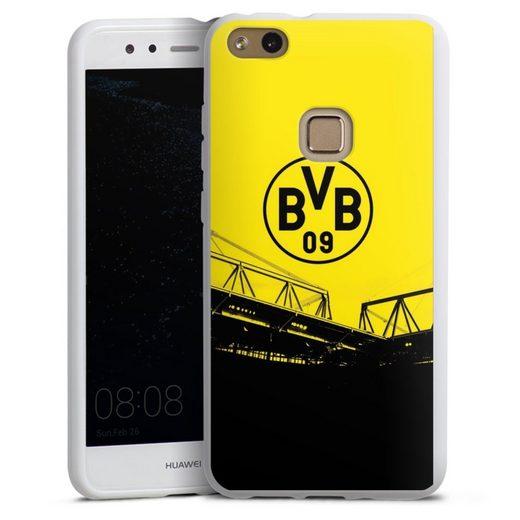 DeinDesign Handyhülle »Stadion Schwarz-Gelb - BVB« Huawei P10 lite, Hülle Borussia Dortmund BVB Fanartikel